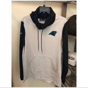 new concept 05b64 861a6 NWOT :: Under Armour :: Carolina Panthers Pullover